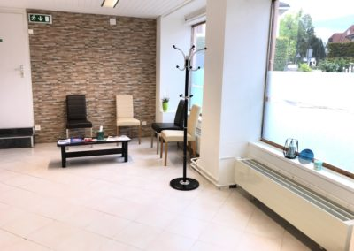 Salle d'attente Proactive Physio